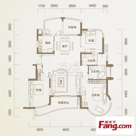 银湖翡翠精装大四房中间楼层采光好老证,二手房