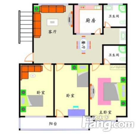 华城新都通透大3房三房朝南两证满二业主诚售,二手房