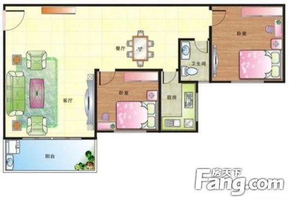 华润置地凤凰城二期豪装满五年中层朝南,二手房