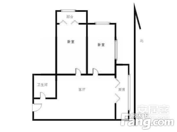 房天下自营中介费1.5%水仙里社区老证3/7楼层怡人,二手房