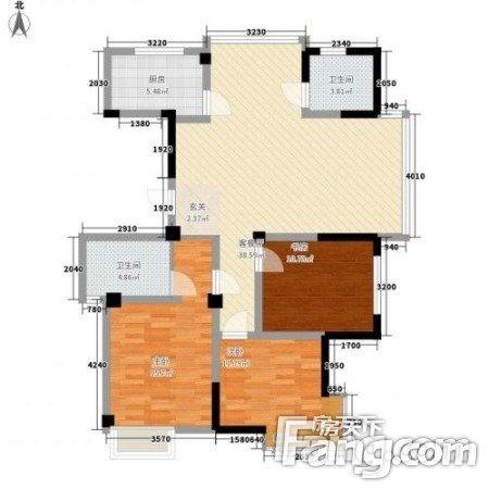 东龙世纪花园二期三室两厅朝南通透简装低层,二手房