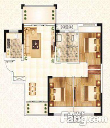 梅南山居低层三室两厅诚心出售简装随时入住出租,二手房