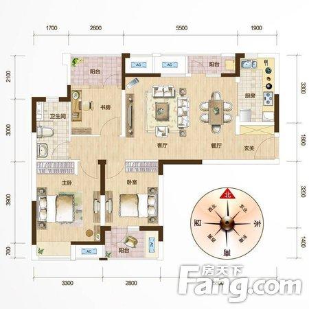 万科汉阳国际3房2厅预约看房二手房