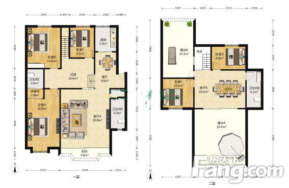 尚隆地球村5室2厅高层精装业主诚售,二手房