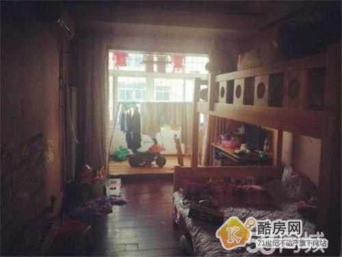 房天下自营淮南街中法家属院62平4楼中装双气二手房