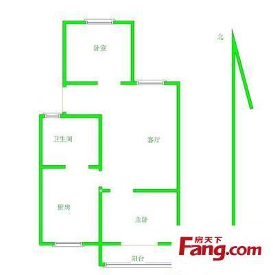 金水区文馨花园2室2厅二手房