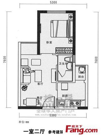 省、实验数码公寓一室一厅业主急售二手房
