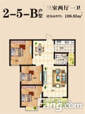 上东城,118平双气三房,南北通透,满两年急卖,看房有钥匙二手房