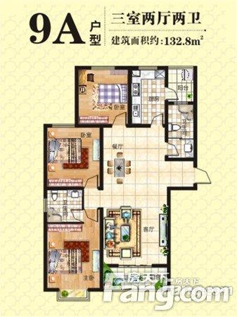 满两年送精装修看房随时上东城双气三房急卖二手房