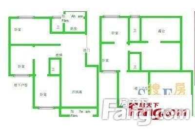 玖号公寓标准四房南北通透精装随时看总价低诚售二手房