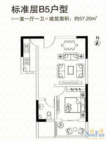 嘉辰时代公寓二手房