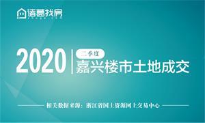 二季度嘉兴楼市土地成交(2020年)