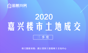 三季度嘉兴楼市土地成交(2020年)